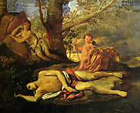 Echo and Narcissus, 1627-28, poussin