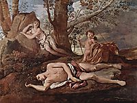 Echo and Narcissus, 1630, poussin