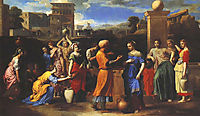 Eliezer Meets Rebecca, 1664, poussin