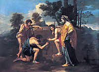 Et in Arcadia ego, 1639, poussin