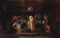 Extreme Unction, 1639, poussin