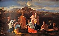 The Finding of Moses, 1647, poussin