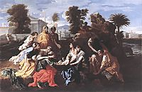 The Finding of Moses, 1651, poussin