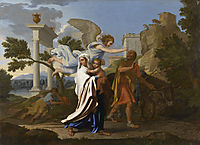 The flight to Egypt, 1657-1658, poussin