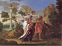 The Flight into Egypt, 1657, poussin