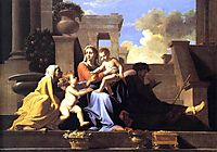 Holy Family on the Steps, c.1648, poussin