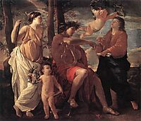 The Inspiration of the Poet, 1629-1630, poussin
