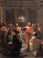 Institution of the Eucharist, 1640, poussin