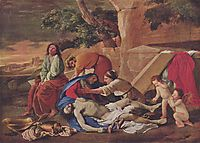Lamentation over the Body of Christ, 1629, poussin