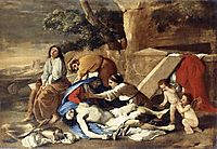 The Lamentation over Christ, 1627, poussin