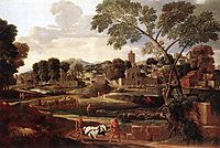 Landscape with Funeral of Phocion, 1648-1650, poussin