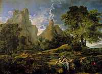Landscape with Polyphemus, 1649, poussin