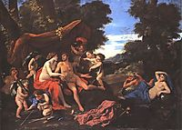 Mars and Venus, 1626-1628, poussin