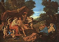 Mars and Venus, 1628, poussin