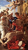 The Martyrdom of Saint Erasmus, 1628, poussin