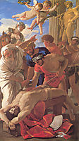 Martyrdom of St. Erasmus, 1628, poussin