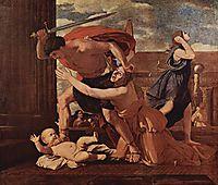 Massacre of the Innocents, 1625 ou 1629, poussin