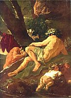 Midas washing at the source of the River Pactolus, 1624, poussin
