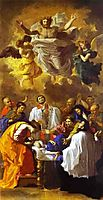 The Miracle of St. Francis Xavier, 1641, poussin