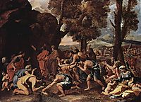 Moses Striking Water from the Rock, 1635, poussin