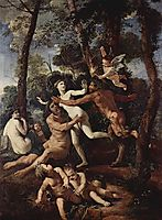 Pan and Syrinx, 1638, poussin