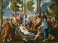 Parnasus, 1626-35, poussin