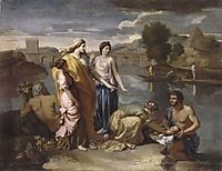 Pharaoh-s Daughter Finds Baby Moses, 1638, poussin