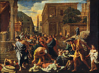 The Plague of Ashdod, poussin