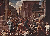 The Plague at Ashod, 1630, poussin