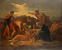 Queen Zenobia Found on the Banks of the Arax, poussin