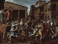 Rape of the Sabine Women, 1638, poussin