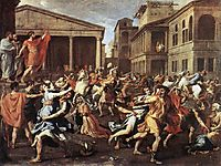 The Rape of the Sabines, 1637-1638, poussin