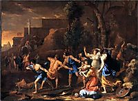 The Rescue of Pyrrhus, 1634, poussin