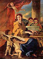 Saint Cecilia, 1627-28, poussin