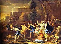 The Saving of the Infant Pyrrhus, poussin
