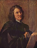Self Portrait, 1649, poussin