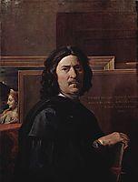 Selfportrait, 1649-1650, poussin