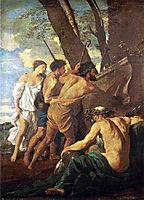 Shepherds of Arcadia, poussin