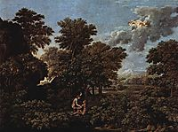 Spring (The Earthly Paradise) , 1664, poussin