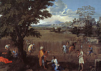The Summer (Ruth and Boaz), poussin