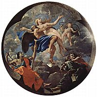 Time Revealing Truth with Envy and Discord, 1640-1642, poussin