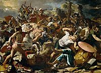 The Victory of Joshua over Amorites, 1624-1626, poussin
