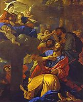 The Virgin of the Pillar Appearing to Saint James the Greater, 1628-1630, poussin