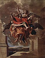 The Vision of St. Paul, 1650, poussin