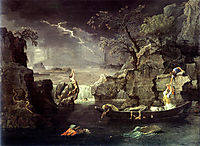 Winter (The Flood)  , 1664, poussin