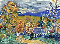 Autumn in New England, c.1913, prendergast