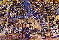 Band Concert, c.1907, prendergast