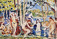 Bathers, c.1915, prendergast