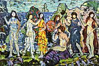 Bathers, c.1912, prendergast
