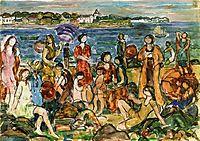 Bathers, New England, c.1919, prendergast